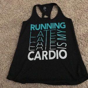 Workout running tank